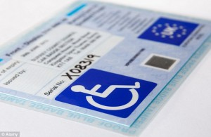 Blue badge image