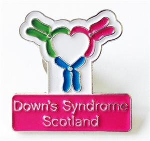 Down's Syndrome Scotland Pins (Set of 5)