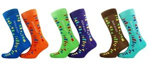 Official Down's syndrome International 'Lot's of Socks' Socks 2017- Toddlers